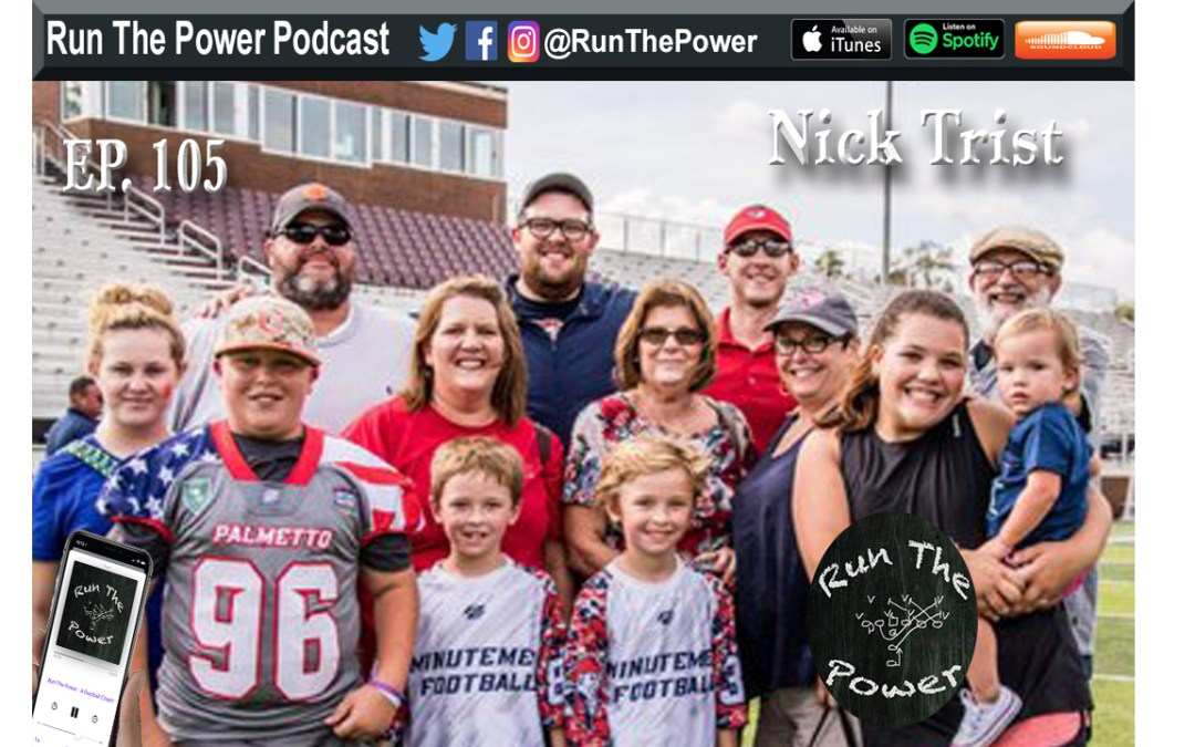"""Nick Trist – Rebuilding Allen University's Football Program Ep. 106"" Run The Power : A Football Coach's Podcast"