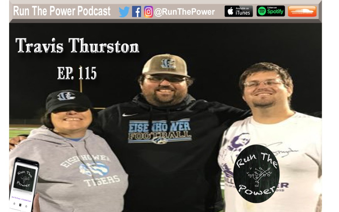 """Travis Thurston – Coordinating the Flexbone Ep. 115"" Run The Power : A Football Coach's Podcast"