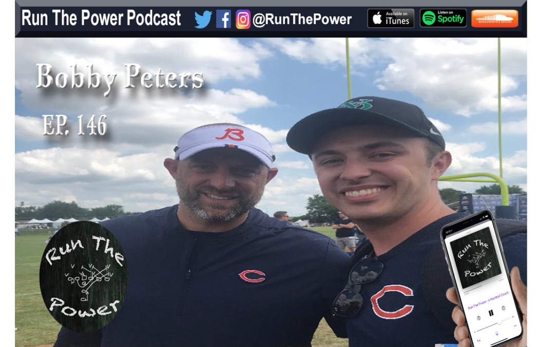 """Bobby Peters – An In-Depth Analysis on NFL Offensive Playbooks Ep. 146"" Run The Power : A Football Coach's Podcast"