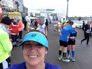 Dusseldorf Finish Line Selfie
