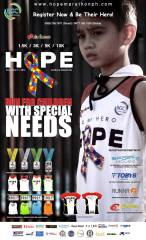 Hope Run 2016 - Wear the Cape and be a Hero!
