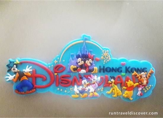 Hong Kong Disneyland - Ref Magnet