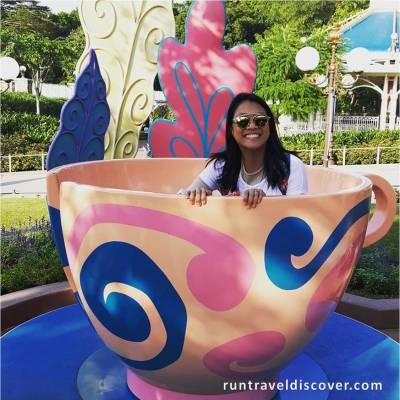 Hong Kong Disneyland - Princess in a Cup