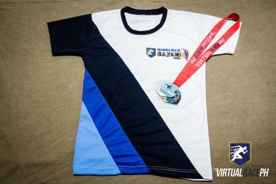 Tindog Surigao Mindanao - Actual Shirt and Medal