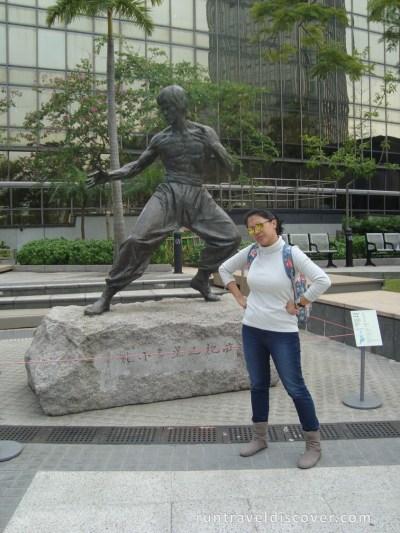 Hong Kong City Tour - Bruce Lee Statue