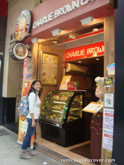Hong Kong City Tour - Charlie Brown Cafe
