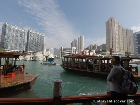 Hong Kong City Tour - View from Jumbo Floating Restaurant