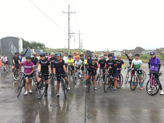 Girls Ride Out - Regroup Miriam College