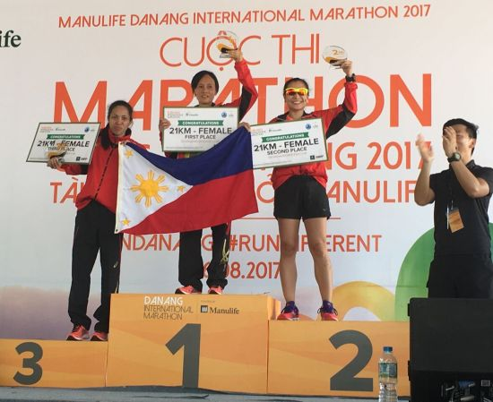 Da Nang International Marathon 2017 - 21K Female Winners