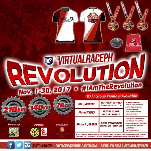 VirtualRacePH Revolution - Race Details