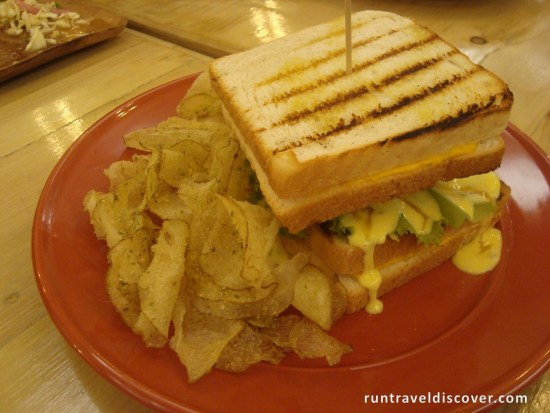Sofrito Cuisine - Grilled Cheese Sandwich Burger