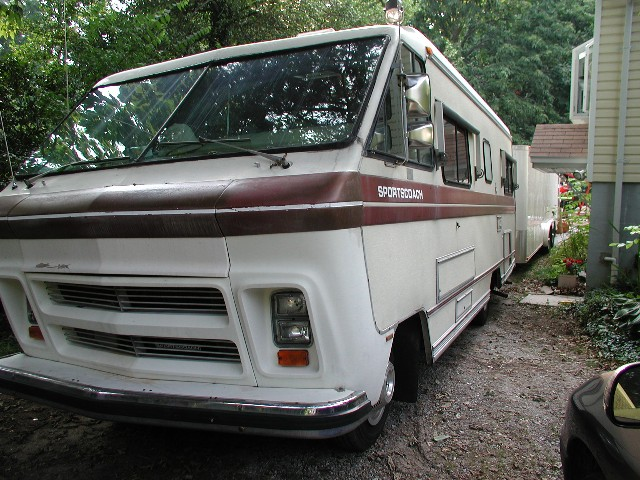 1984 Chevy Coachman Motorhome