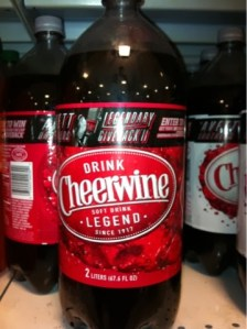Cheerwine: when in Rome…..