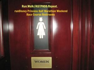Disney Princess Half Weekend: 10k Course Epcot Restroom Map