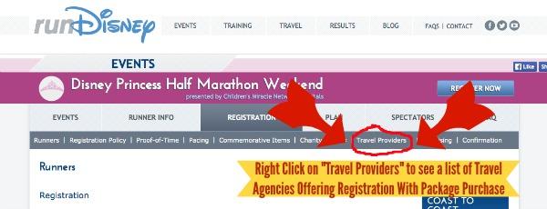 Travel Providers Registration