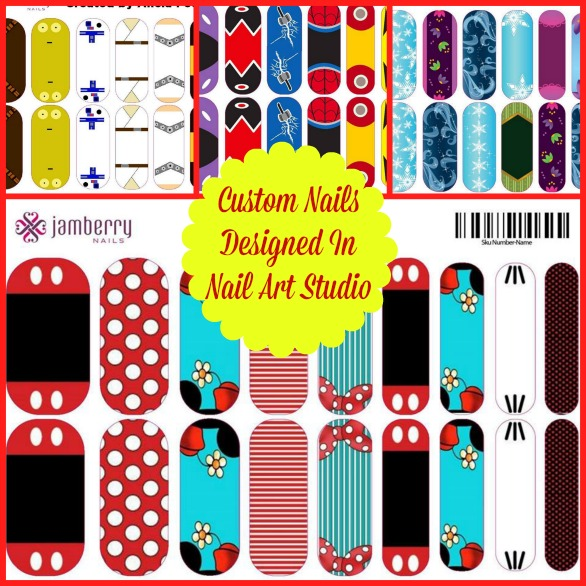 Create Your Own Nails In Nail Art Studio