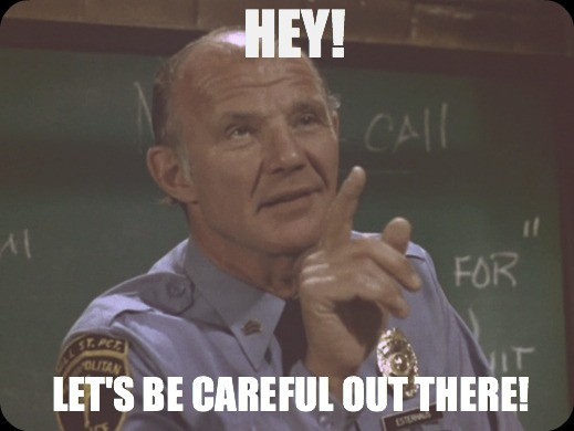 Hill Street Blues Let's Be Careful