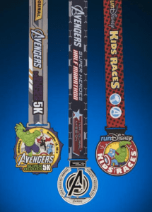 runDisney Reveals Avengers Medals