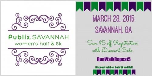 Savannah Half Discount Code