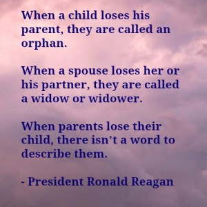 Reagan infant loss quote
