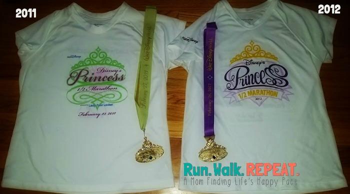 Princess Half Shirt 2011 2012