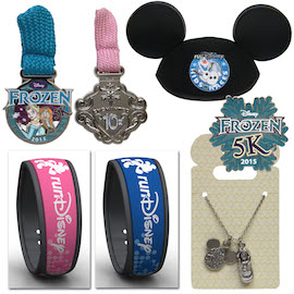 Princess Half Merchandise Bands and Pins and Necklace