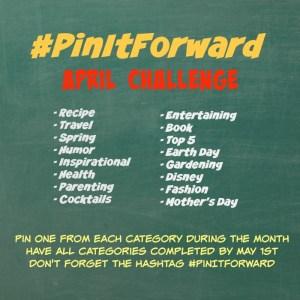 Pin It Forward April 2015 Challenge