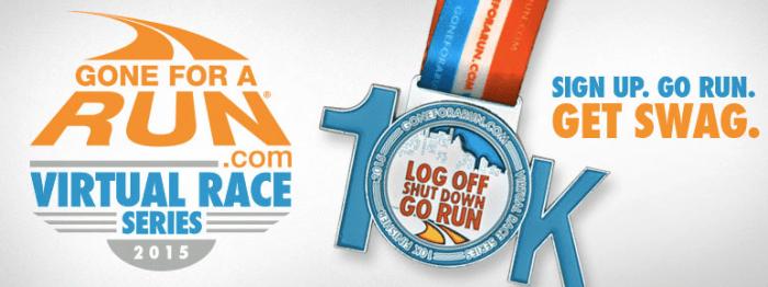 Log Off Shut Up Go Run Virtual Race