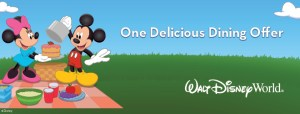2015 Fall Offers from Walt Disney World Resort: Free Dining and Room Only Options