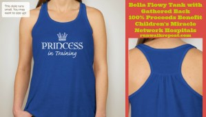 Princess in Training Tank to Benefit Children's Miracle Network Hospitals