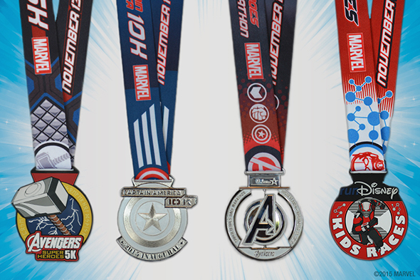 Avengers Medals 2015