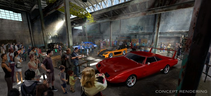 Fast-Furious Ride Rendering