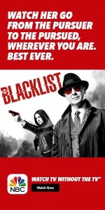 Watch The Blacklist in a Whole New Way NBC TVEverywhere – TV Without The TV