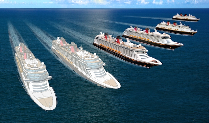 Setting sail in 2021 and 2023 two new ships will join DIsney Cruise Line