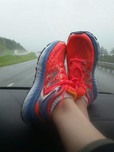 The rain had us a bit worried as the husband drove to SAV and I enjoyed the scenery.