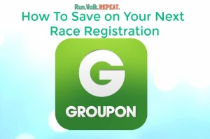 Save on Race Registrations with Groupon