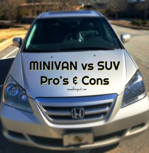 Minivan Versus SUV Pros and Cons