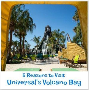 Five Reasons to Visit Volcano Bay