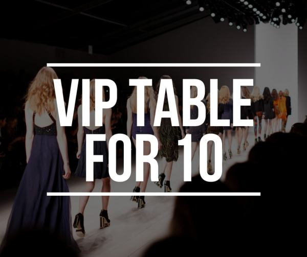 VIP Table for 10