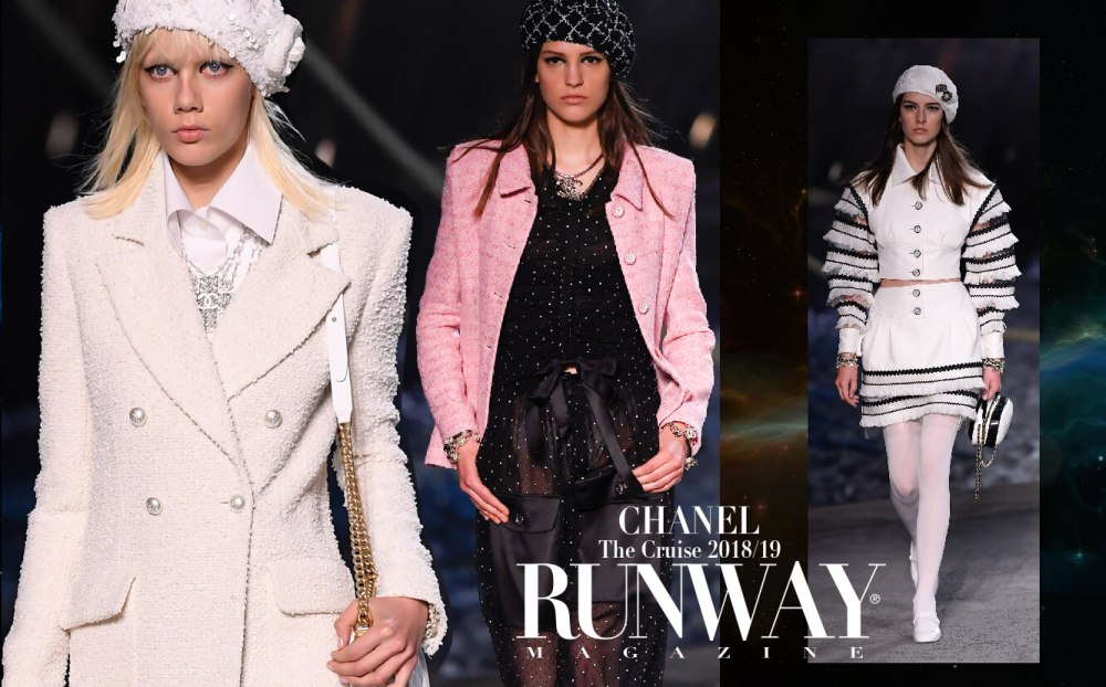 Chanel Cruise 2018-19 by RUNWAY MAGAZINE