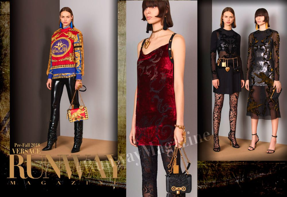 "VERSACE Pre Fall-Winter 2018-2019 Milan by Runway Magazine <a href=""https://runwaymagazines.com"">RUNWAY MAGAZINE </a>"