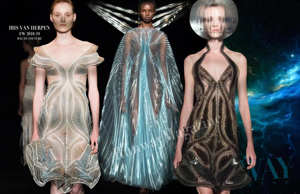 IRIS VAN HERPEN Haute Couture Fall Winter 2018-2019 Runway Magazine
