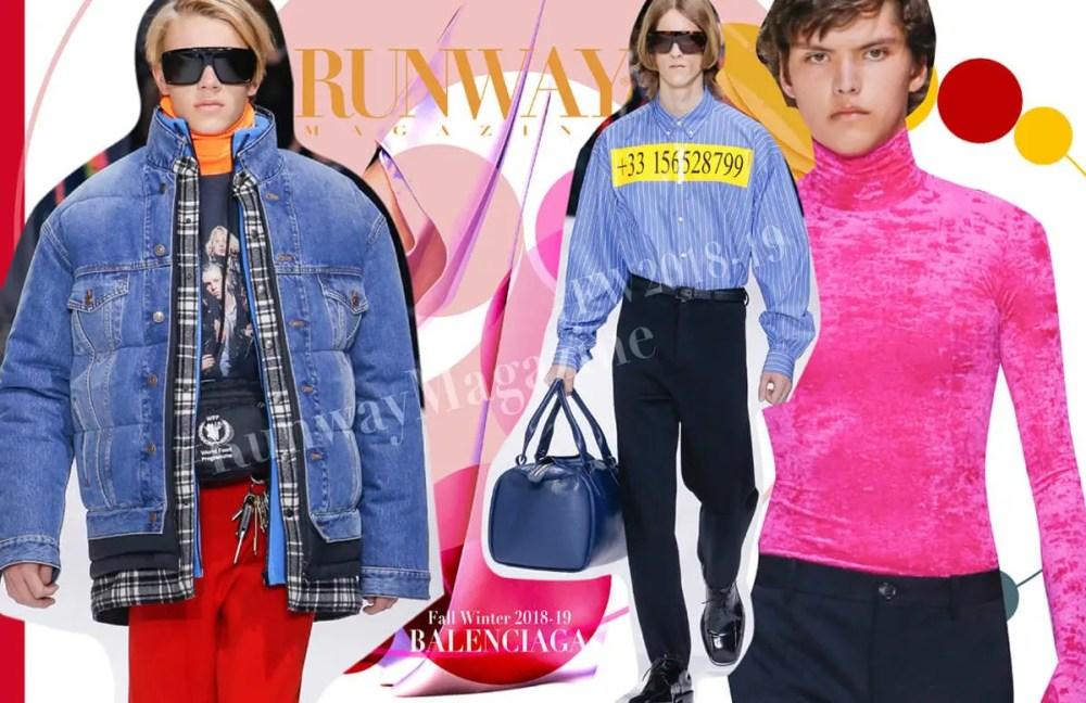 Balenciaga by Runway Magazine Paris Fall Winter 2018 2019