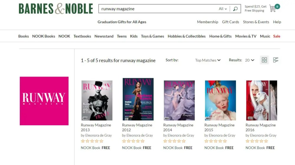 Barnes-and-Noble-Runway-Magazine-Eleonora-de-Gray-digital-teaser Runway Magazine Digital issues