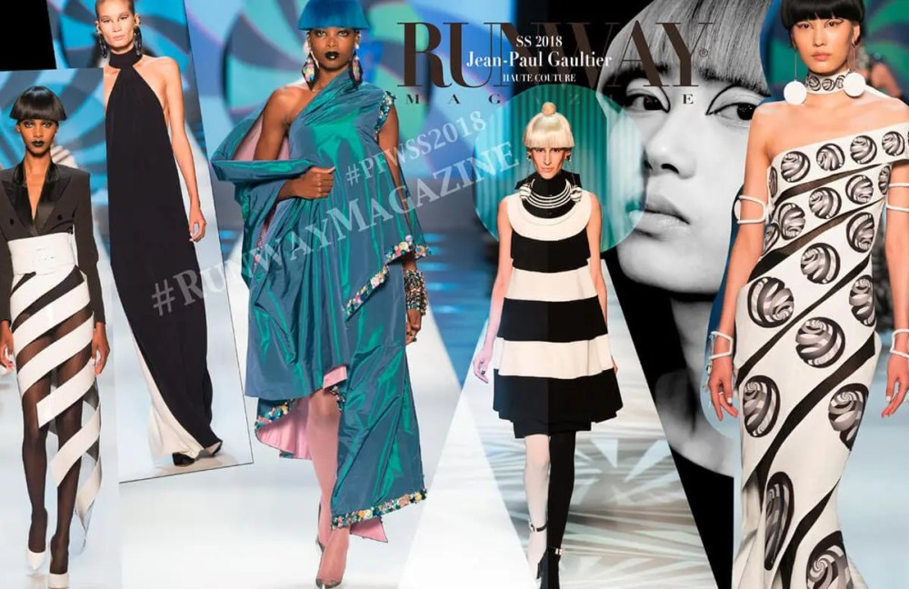 JEAN PAUL GAULTIER Haute Couture Spring Summer 2018 by Runway Magazine