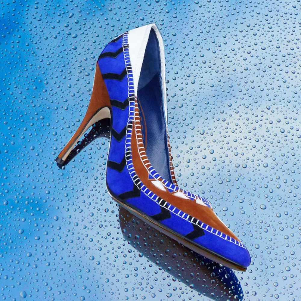 Runway magazine manolo blahnik shoes for Shoe designer manolo blahnik