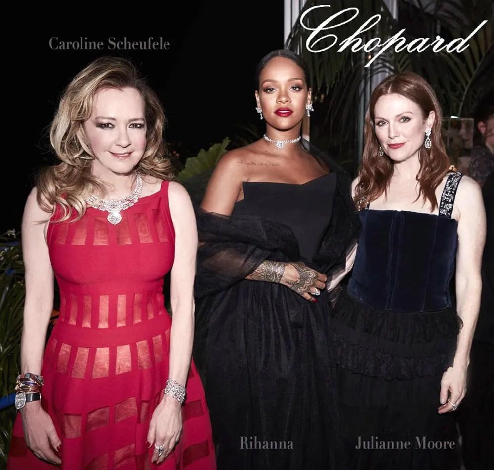 Rihanna Julianne Moore Caroline Scheufele Chopard by Runway Magazine