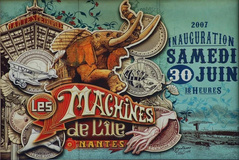 Runway-Magazine-Les-Machines-Nantes-Francois-Delaroziere-Pierre-Orefice-steampunk-mecanics-fashion-elephant-poster