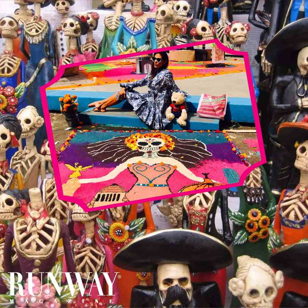 Runway Magazine Day of the Dead in Mexico