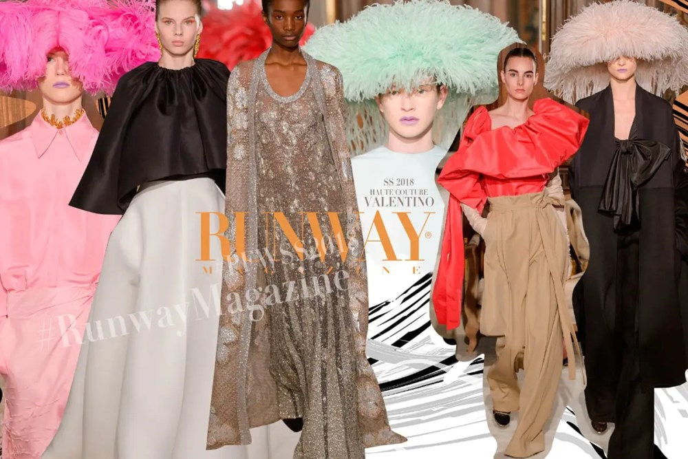 VALENTINO Haute Couture Spring Summer 2018 by Runway Magazine